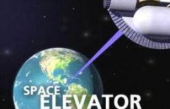 space elevator image