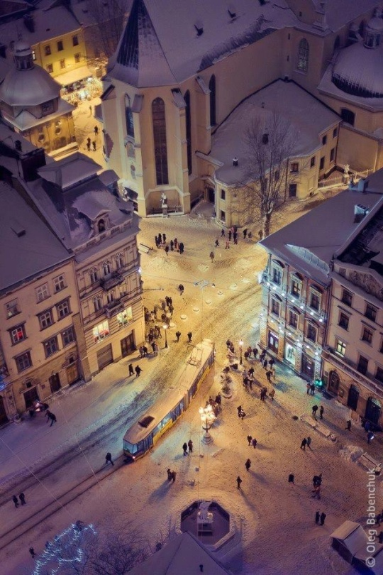 Winter in Kviv